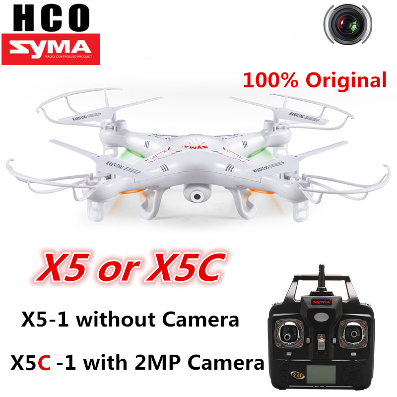Syma X5 Drone no camera & X5C-1 Camera drone RC Quadcopter with Camera HD 2MP 4GB SD 6-Axis rc Helicopter rc copter Quad Toy