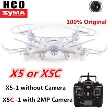 Syma X5C RC Drone con Cámara 720 P HD de Control Remoto Quadcopter con Cámara 2.4G 6-Axis/X5 Quadcopter Drone sin cámara