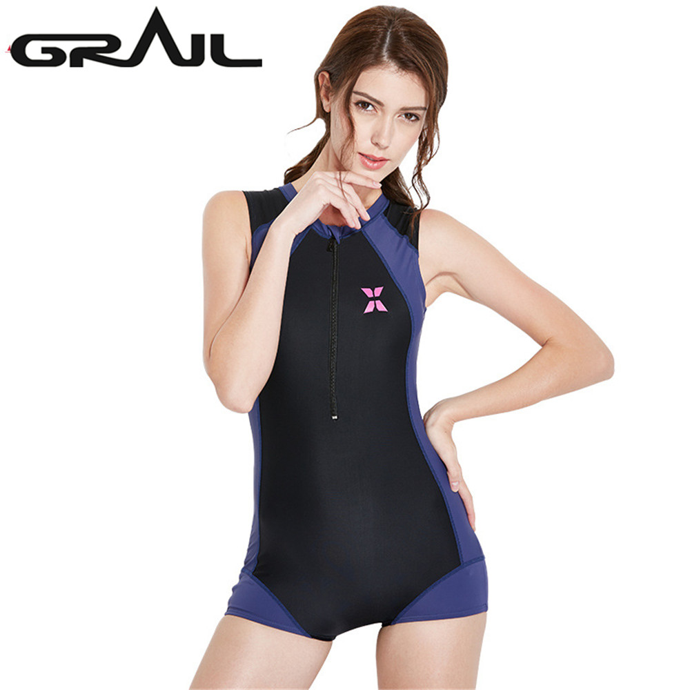 GRAIL New Sexy One Piece Swimsuit Women Patchwork Swimwear Bodysuit Cut Out Beach Wear Bathing Suit Plus Size LS-18671 women one piece triangle swimsuit cover up sexy v neck strappy swimwear dot dress pleated skirt large size bathing suit 2017