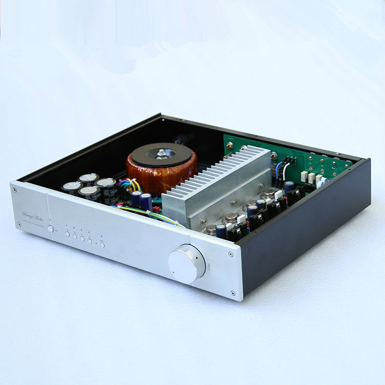 New N140 Remote Volume Integrated Amplifier / Four-way signal input selection Based on NAIM NAP140 Audio Power Amp hot sale naim nap140 power amplifier home audio amplifier