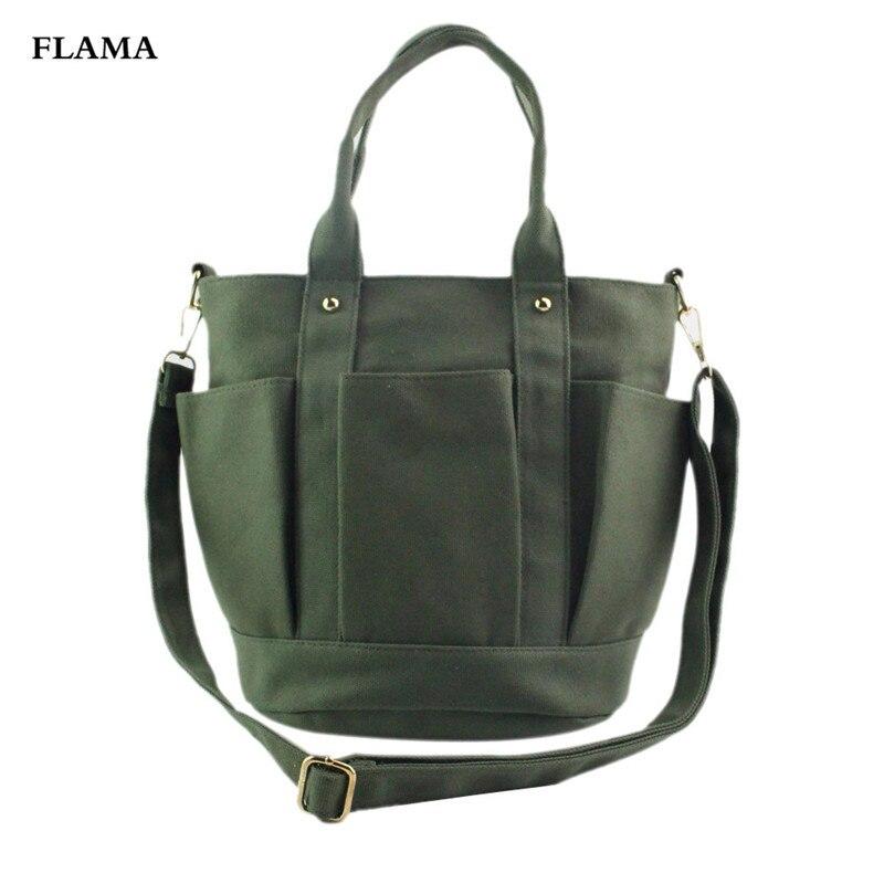 Della Large Mujer Nero bianco Borsa Modo Signora Borse Messenger Il Shoulder Bolsa Zipper Qualità Bag grigio Alta Delle Di Donne verde Canvas Tote HBfqSSapc