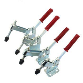 Horizontal type fast clamp welding work piece clamp press clamp pressing button die fixing and pressing device 200WL 200WH200WLH fast fixture clamp head packer horizontal jy203f203fl factory direct fast compactor