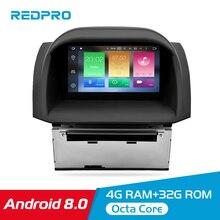 цена на 4G RAM Android 9.0 8.0 Car Stereo For Ford Fiesta 2013-2017 Auto Radio DVD Player GPS Navigation Bluetooth 2 Din Wifi Multimedia