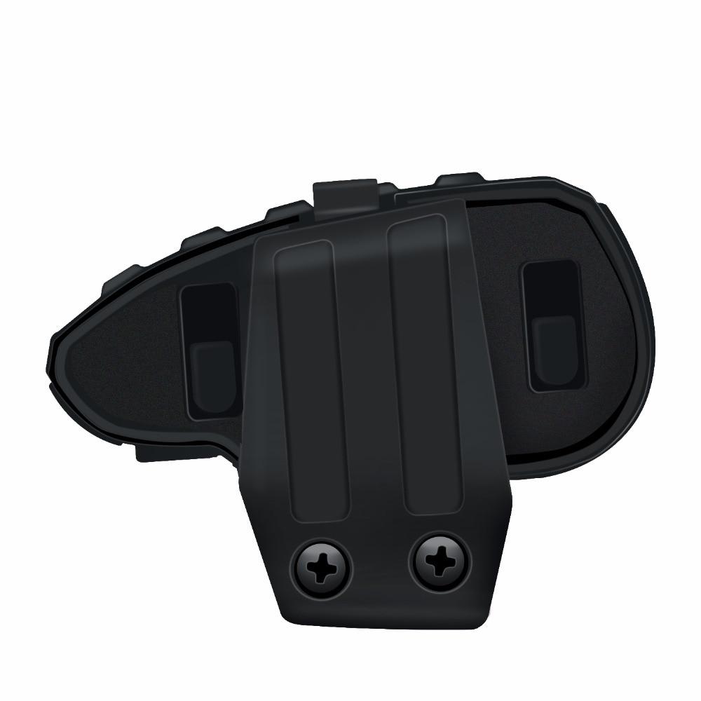 Image 4 - 2PCS 5 Riders V8 Bluetooth Intercom Moto Helmet NFC Motorcycle  Handlebar Remote Control Communicator Helmet Headset with FM  radioHelmet Headsets   -