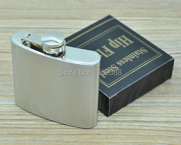 100pcs/lot 5oz(140ml) High Quality Cute 5oz Hip Flask Stainless Steel Drink Liquor Flask Whisky Alcohol