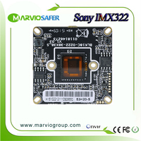 1080P 2MP IP CCTV Network Camera Module Board Onvif P2P POE Optional Good Night Vision Low