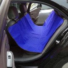 Pet auto Coprisedili Panca Posteriore Impermeabile Sedile 600D Oxford Car Interior Accessori Da Viaggio Coprisedili Auto Stuoia per Gli Animali Domestici cani