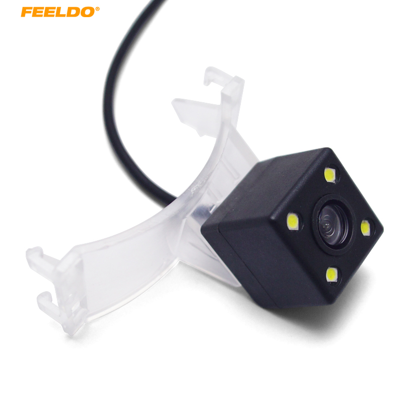 FEELDO 1Set Car Rear View Camera For <font><b>Mazda</b></font> 5 M5 <font><b>2011</b></font> 2012/<font><b>CX</b></font>-<font><b>9</b></font> Parking Assist Backup Camera #AM3951 image