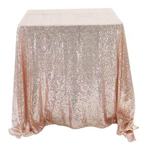 Rose Gold Sliver Glitter Square Sequin Table Cloth For Wedding Events Party Decoration Multi Color Rectangular TableCovers