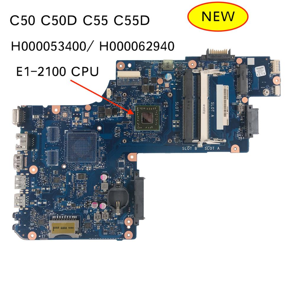 Free Shipping H000062940 H000053400 for Toshiba Satellite C50 C55 C50D C50 D C55D Laptop Motherboard Mainboard