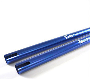 2X TREX 600 Tail Boom/Blue HN6091 Tarot 20x21.5x625mm