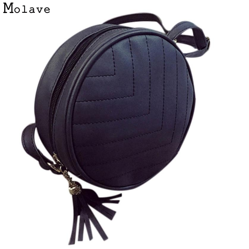 Naivety 2017 Women Handbag PU Leather Round Bag Cute Tassel Tote Lady Mini Thread Purse 28S7430 drop shipping naivety new fashion women tassel clutch purse bag pu leather handbag evening party satchel s61222 drop shipping