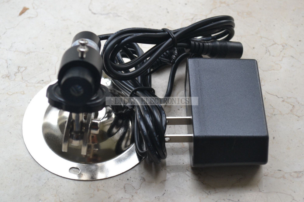 ФОТО 5VDC 808nm 200mw IR Infrared Laser Line Module w/ Amount w/ AC Adapter 16x60mm