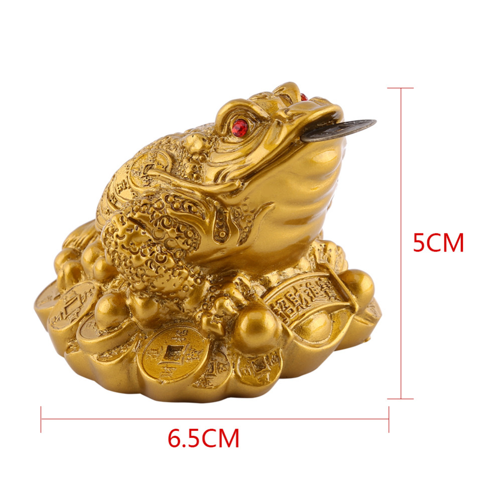 feng shui money fortune wealth frog toad coin home office. Black Bedroom Furniture Sets. Home Design Ideas