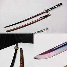 Handmade Medium Carbon Steel Samurai Sword Katana Sharp Edge Red Blade Fashion gift