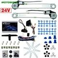 MOTOBOTS Auto/Truck Vorne 2-Doors Electric Power Fenster Kits mit 3 teile/satz Schalter & Harness DC24V # CA2979