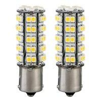 10x) 2* 1156 1210 BA15S 68 SMD LED Standlicht Birne Licht Lampe Leuchte Warmwei Kfz