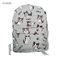 Cartoon Chi Katze Rucksack Schultaschen Chi Sweet Home Anime Cosplay Nette Katze Rucksack Schultasche für Kinder Daypack-in Rucksäcke aus Gepäck & Taschen bei