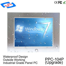 Cheap  10.4″ Industrial Touch Screen Panel PC All In One Barebone Industrial PC Kit With XP/Win7/Win10/Linux System For POS