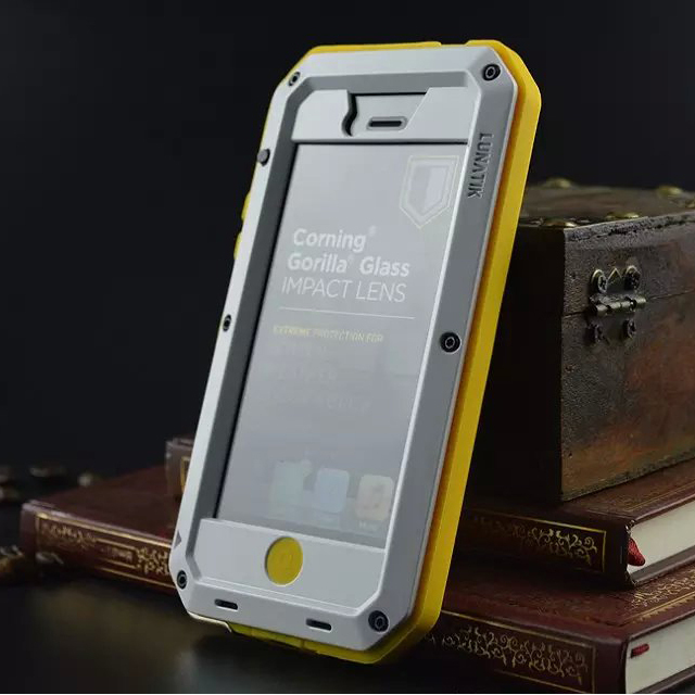 Aluminum-Metal-Element-Waterproof-Shockproof-Mobile-Phone-Cover-Case-For-iPhone-5-5S-SE-Gorilla-Tempered (1)