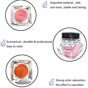 Image 5 - Pigment de tatouage de maquillage Permanent, 2 pièces PCD pour sourcils et lèvres, Microblading, ensemble dencre, broderie, beauté pour stylo manuel, accessoire