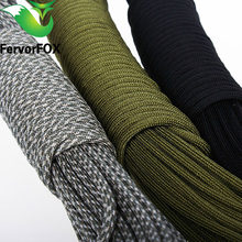 5 Meters Dia.4mm 7 stand Cores Paracord for Survival Parachute Cord Lanyard Camping Climbing Camping Rope Hiking Clothesline(China)