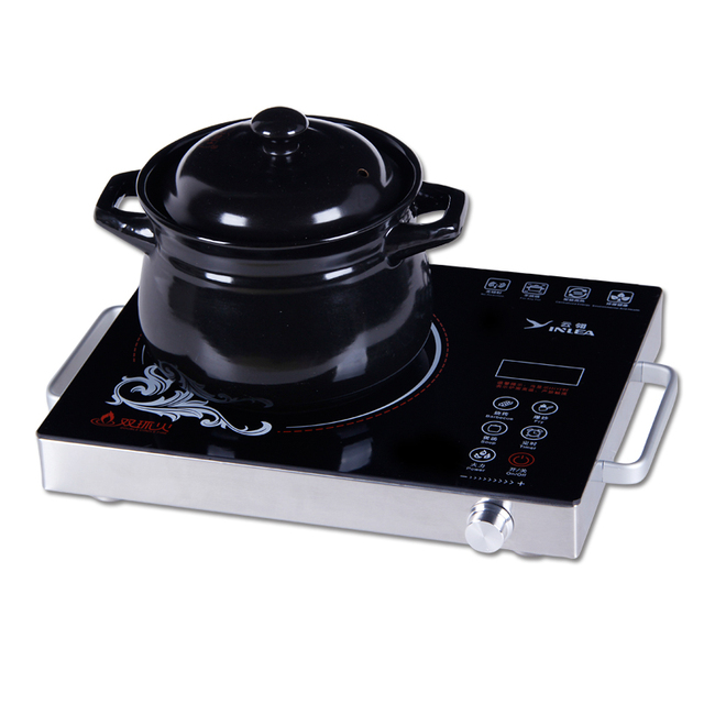 Electric ceramic stove electromagnetic furnace electromagnetic cooktop touch ultra-thin mini waterproof