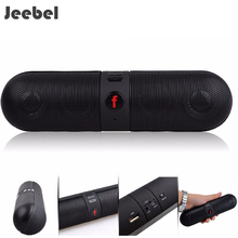 Jeebel Speaker Portable Subwoof Wireless Bluetooth Sound 3D Stereo Music Bluetooth TF AUX U-disk Audio Outdoor Soundbar FM Radio