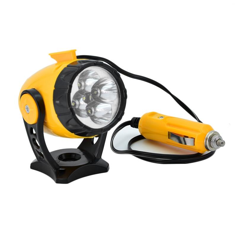 Universal LED Car Emergency Lights with Cigarette Lighter LED Emergency Work Light 5 LED lamp