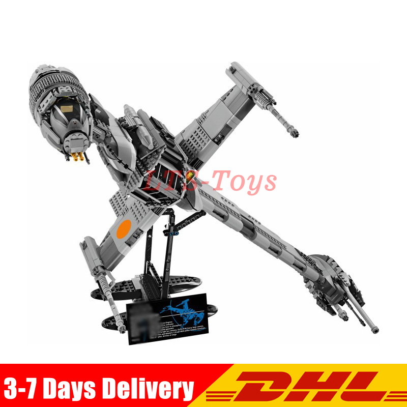Lepin 05045 Star 1487pcs War Series The B Starfighter Wing Educational Building Blocks Bricks Toys Compatible with Legoing 10227 lepin 05048 543pcs star war seiers the tie striker building blocks bricks figures toys compatible with 75154
