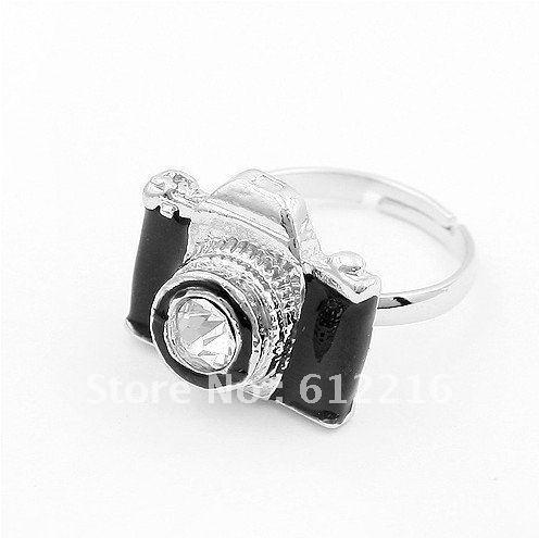 15PC/LOT Korea fashion trend atmospheric amusing life camera ring Wholesale  SJA378 8090 Jewelry