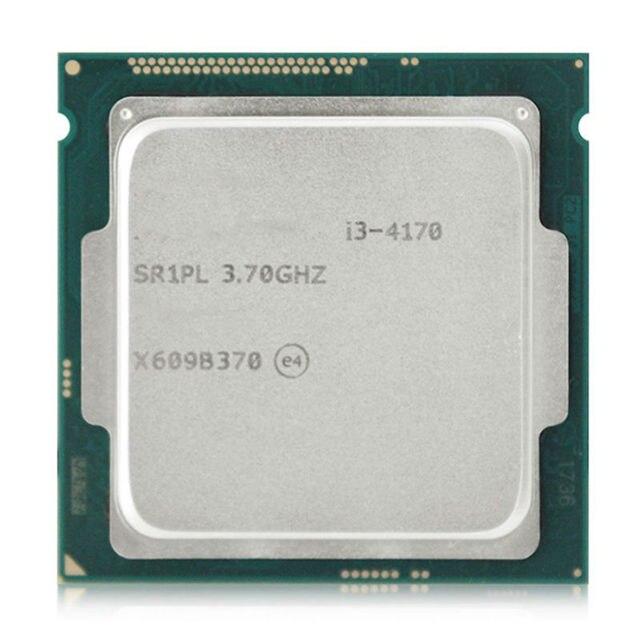 НОВЫЙ Оригинальный Intel i3-4170 ПРОЦЕССОР SR1PL 3.7 ГГц LGA 1150 55 Вт Dual Core i3 4170 Процессор И Чипсет