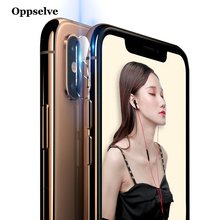 Ultra Tempered Glass+Metal Rear Lens Protective Ring For iPhone X Xs Max Xr 10 8 7 Plus Transparent Clear Camera Glass Film