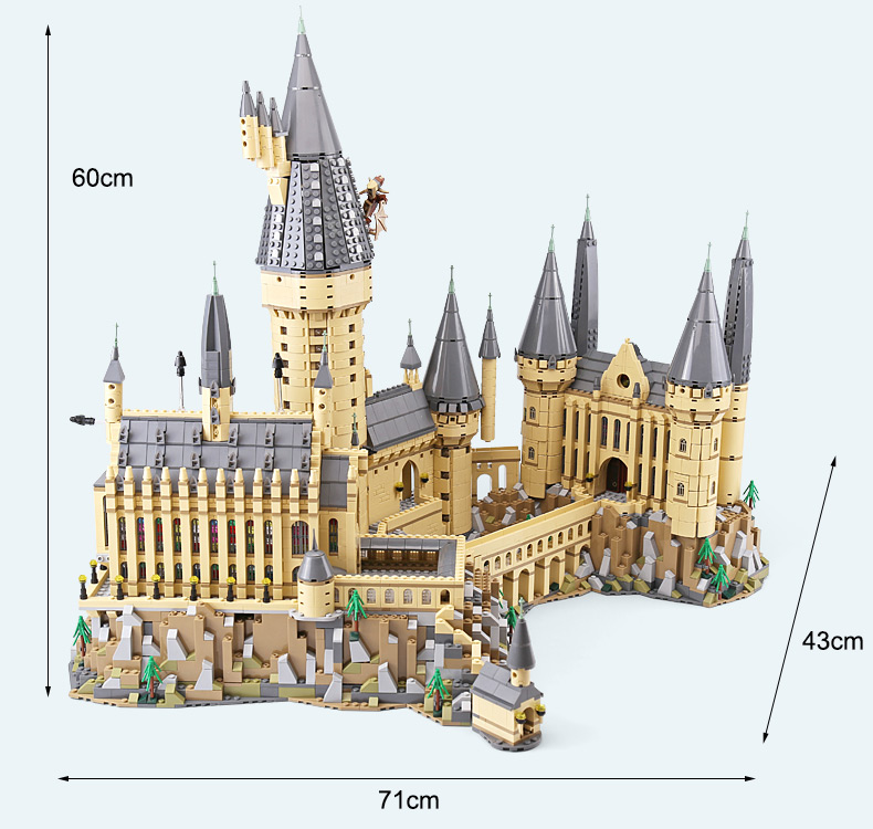 Industrial Light And Magic Harry Potter: Lepin 16060 Harry Movie Magic School Potter Compatible