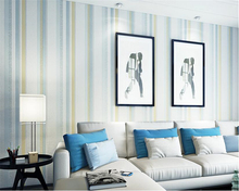 beibehang wallpaper Modern personality simple sprinkle stripes nonwoven papel de parede living room bedroom background