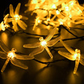 Dragonfly Solar String Light Beautiful Animal Design Decorative Lamp for Garden, Lawn, Patio, Wedding, Party, Bedroom, Christmas