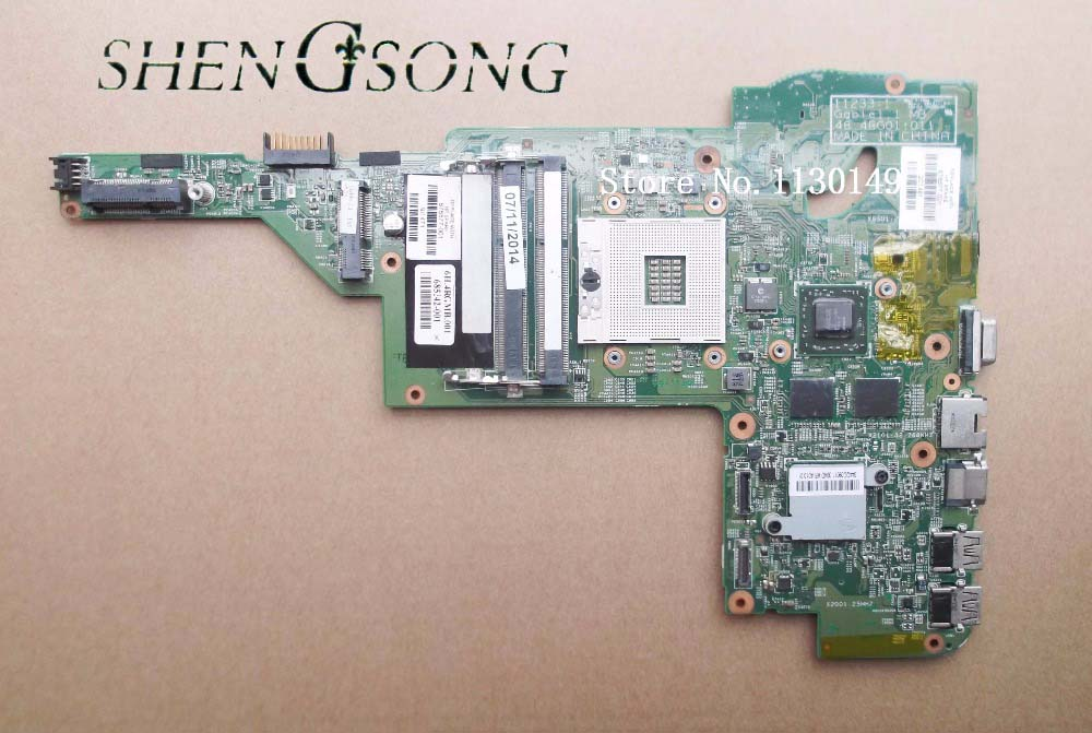free shipping Working 676577-001 For HP DM4 DM4-3000 motherboard 11233-1 48.4RG01.011 with 216-0833018 GPU Onboard DDR3 744009 501 744009 001 for hp probook 640 g1 650 g1 motherboard socket 947 hm87 ddr3l tested working