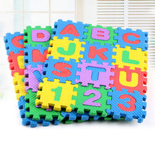 36pcs Set Baby Play Mats Alphabet Numerals Baby Kids Play Mat Math Educational Puzzles Toy Child