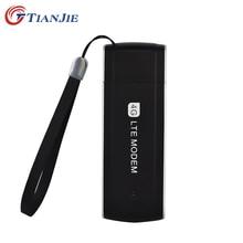 Nueva Llegada! desbloquear Universal Inalámbrico Portátil 4G Tarjeta SIM del Módem 100 Mbps LTE FDD WCDMA EVDO Módem USB Dongle