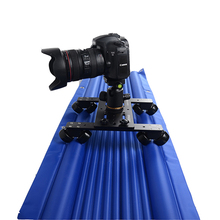 Professional air track camera slider design travel portable best video slider 1.2m 120cm dolly track jib dslr rail