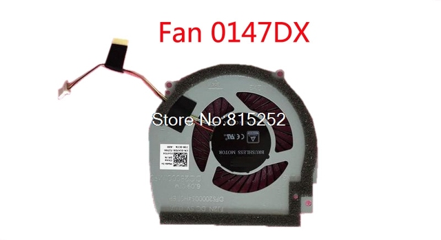 US $15 0 |Fan For DELL 15 7000 7566 7567 P65F DC28000IMF0 DFS2000054H0T  FJ2N 0147DX 147DX DC28000IOF0 DFS541105FC0T FJ2M 0NWW0W 0M0FW2-in Laptop
