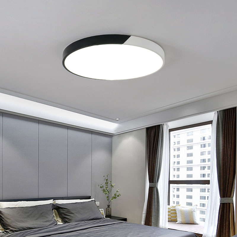LED Modern Acryl Ceiling Lights personality Indoor Lighting Lamp Fixture For Living Room Bedroom round corridor lamp