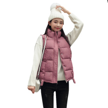 new Casual Cotton Vest Women Fashion 2020 Autumn Winter Warm Coat Woman Ladies Waistcoat Slim Outerwear