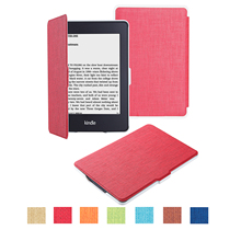 NEW Oxford cloth Folio Smart Case Skin Cover With Strong-magnet/wakeup/sleep function For Amazon Ebook Kindle 7th 6″ E-Reader