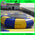 Jumping Inflatable Water Trampoline / Aqua Trampoline For Lake floating water park adults sports
