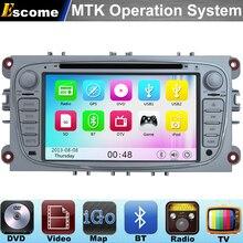 Mtk3360 dvd-плеер автомобиля для Ford Mondeo FORD Focus 2007 2008 2009 2010 2011 с 800 мГц Процессор двухъядерный bluetooth Радио GPS