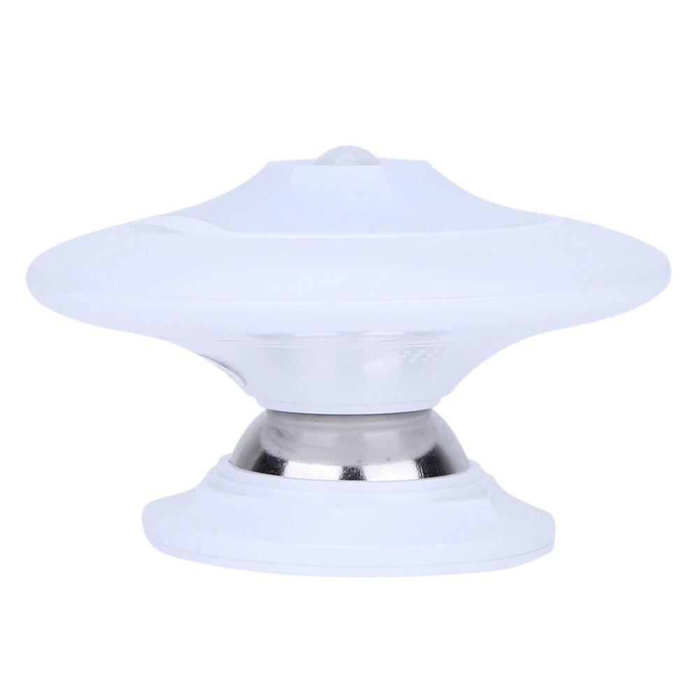 НЛО светодиодный инфракрасный Средства ухода за кожей Сенсор Light 360 градусов поворачивая свет Крытый ночник для Спальня фойе исследование к...