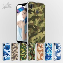 Camouflage army for Huawei P20 lite Case P Smart Pro Nova 3i 3 Cases Honor 10 9 6X 7X 8