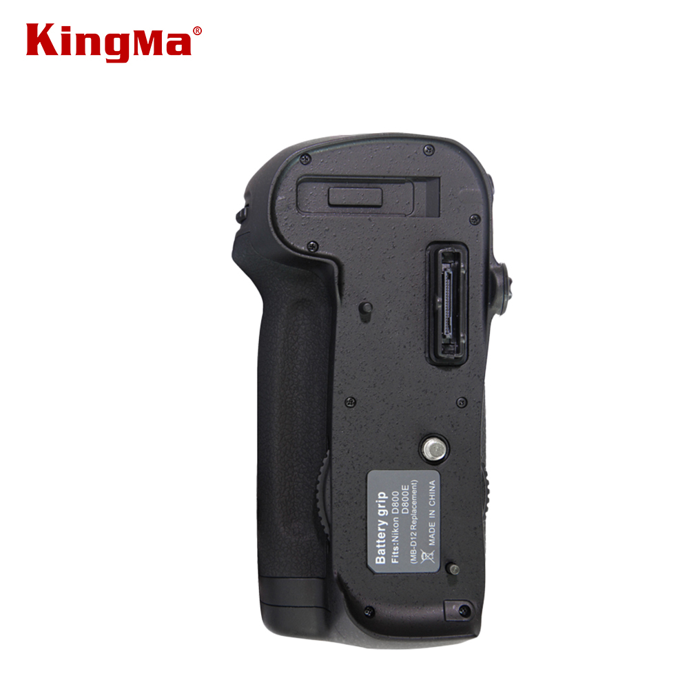 ФОТО KingMa MB-D12 2-step Vertical Battery Grip Holder for Nikon D800 D800E DSLR Digital SLR Camera