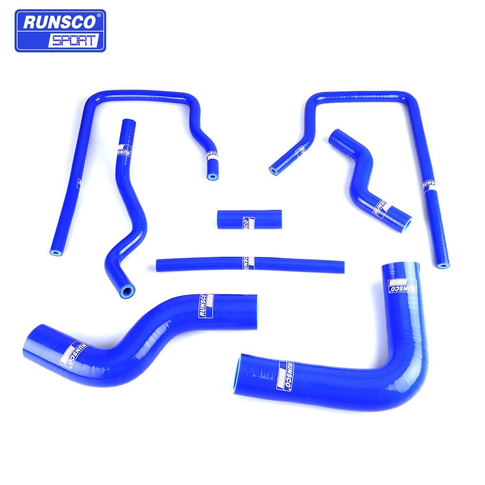 Water Silicone Intercooler Turbo Radiator Hose Kit For Subaru Impreza GC8 GF8 STI EJ20 WRX 96